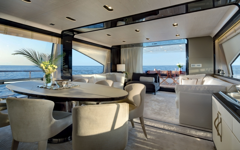 Azimut 80' Interiors - The Future of Boat Design has Arrived