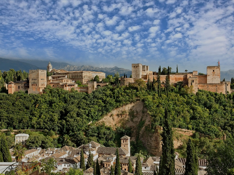 Alhambra-Granada, Spain: Rich in History and Culture
