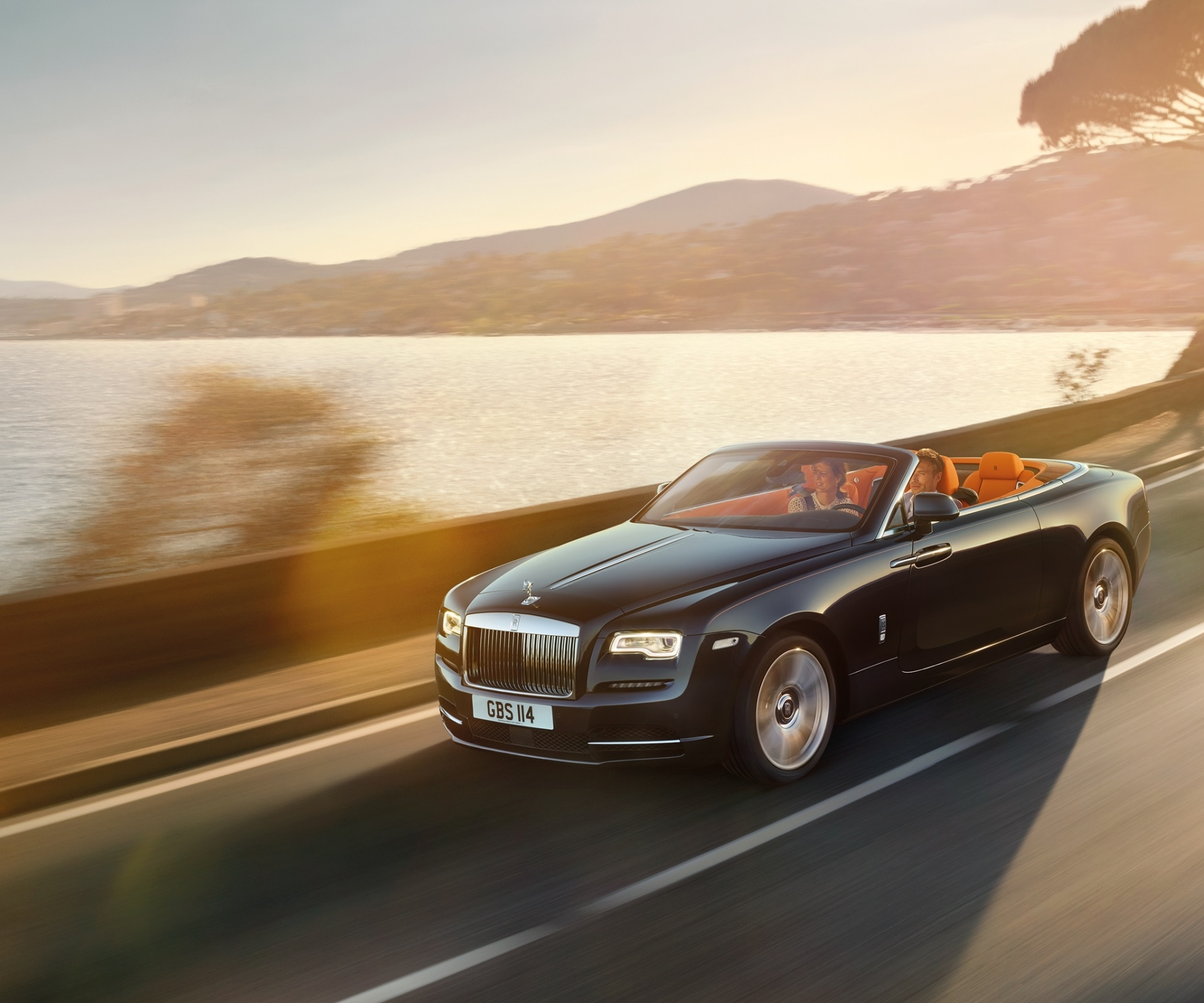 The Rolls-Royce Dawn shines light on a new day in luxury vehicles.