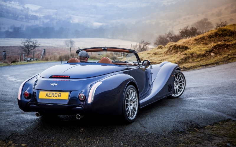 The Morgan Aero 8 is top of the line when it comes to British sport cars.