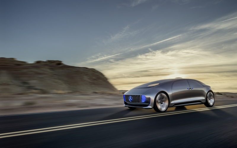 Experience the Mercedes F015 Concept Car