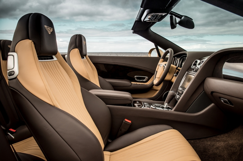 Bentley New Continental GT Interior