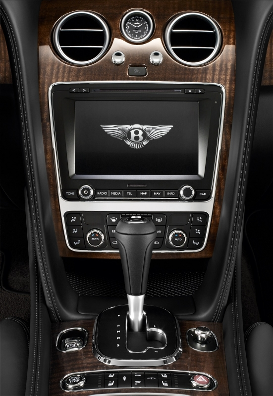 Bentley New Continental GT Features