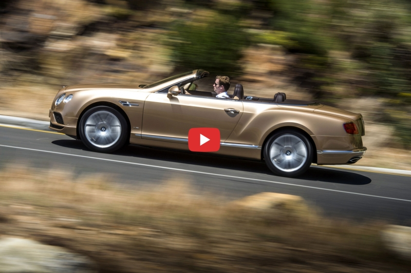 Experience The New Bentley Continental GT Convertible