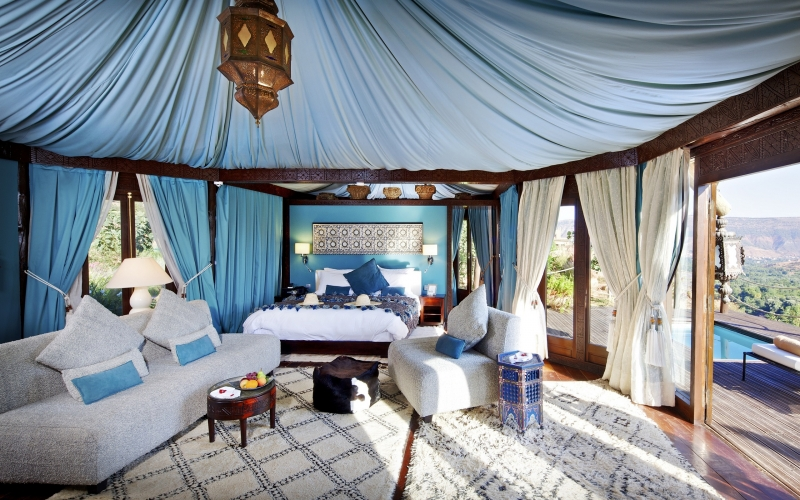 Kasbah Tamadot is Home to 27 Luxury Rooms and Suites