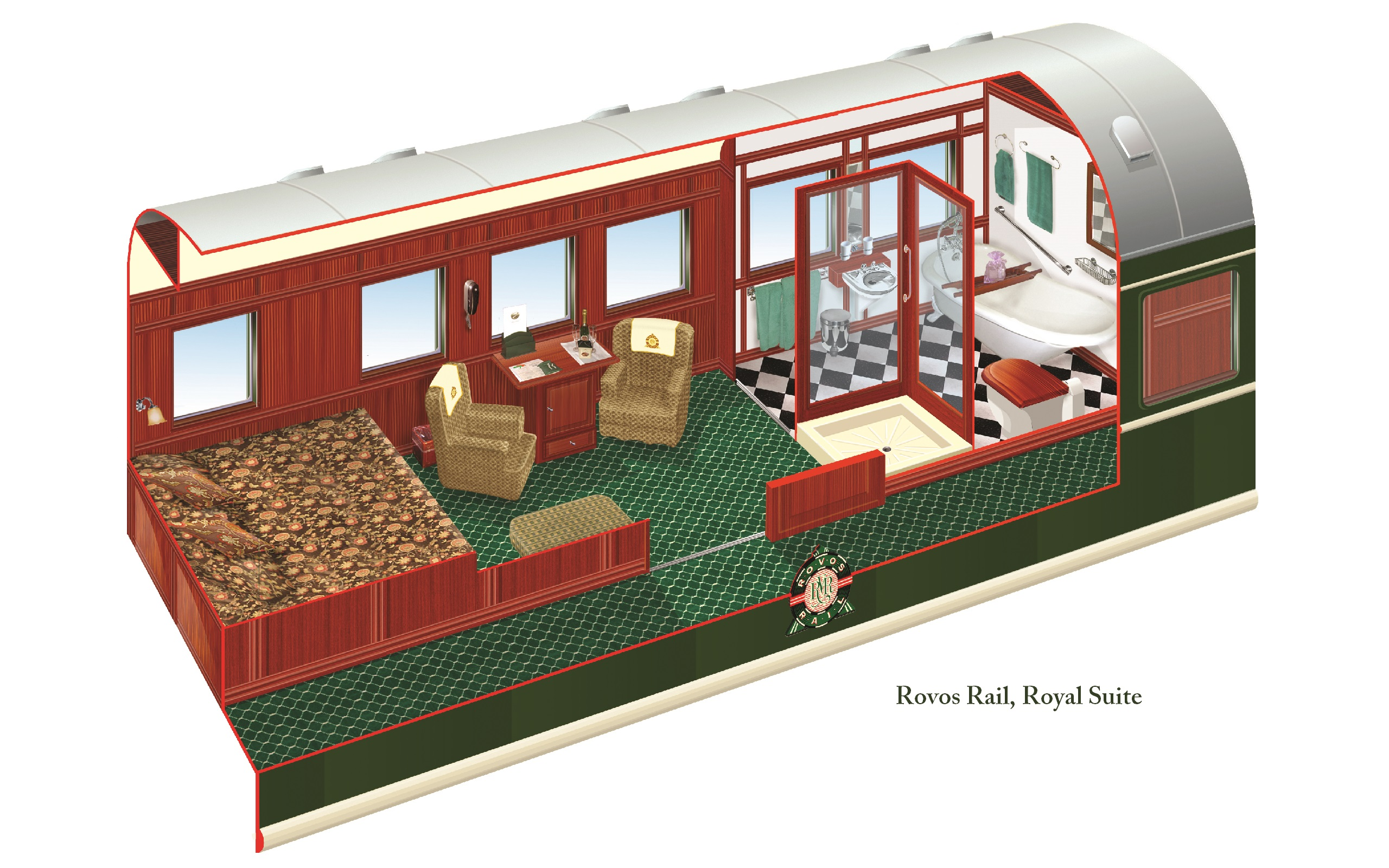 Rovos Rail Trains Offer All The Same Amenities As A 5-Star Hotel