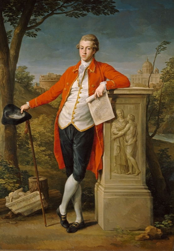 A portrait of Francis Basset painted in 1778