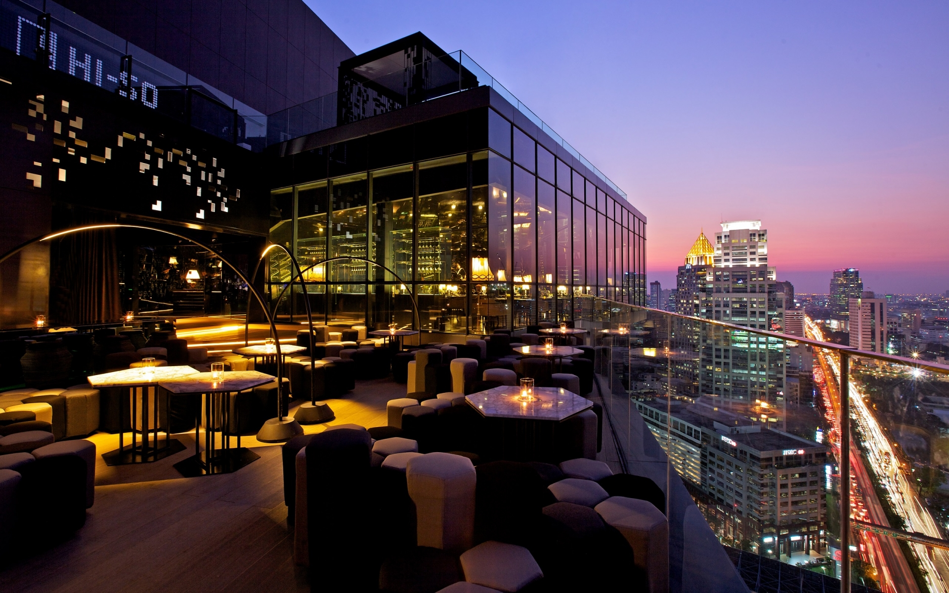 Sofitel SO Bangkok offers several choices for restaurants and bars within the hotel.