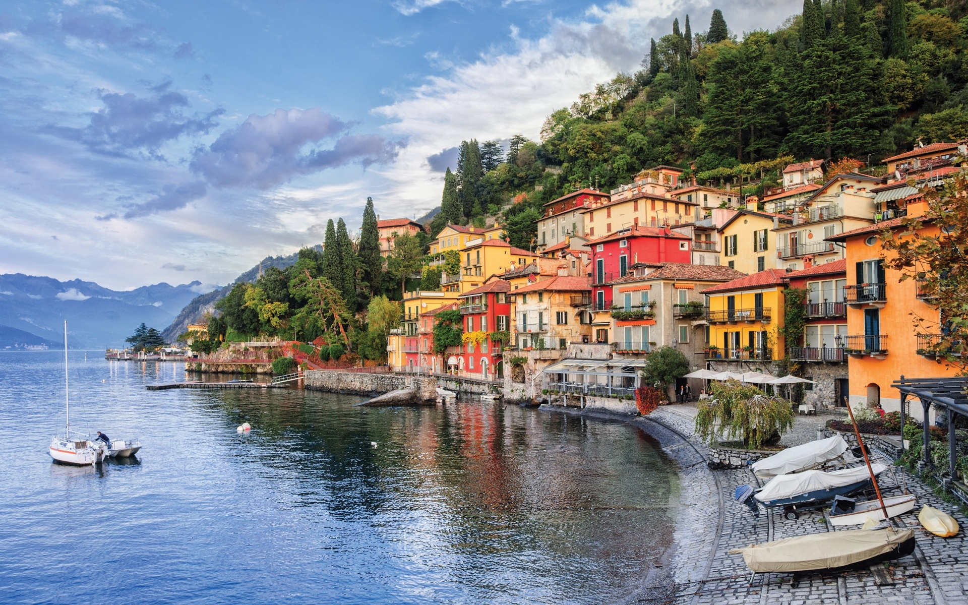 Lake Como itself is one of the deepest lakes in all of Europe and is the third largest lake in Italy.