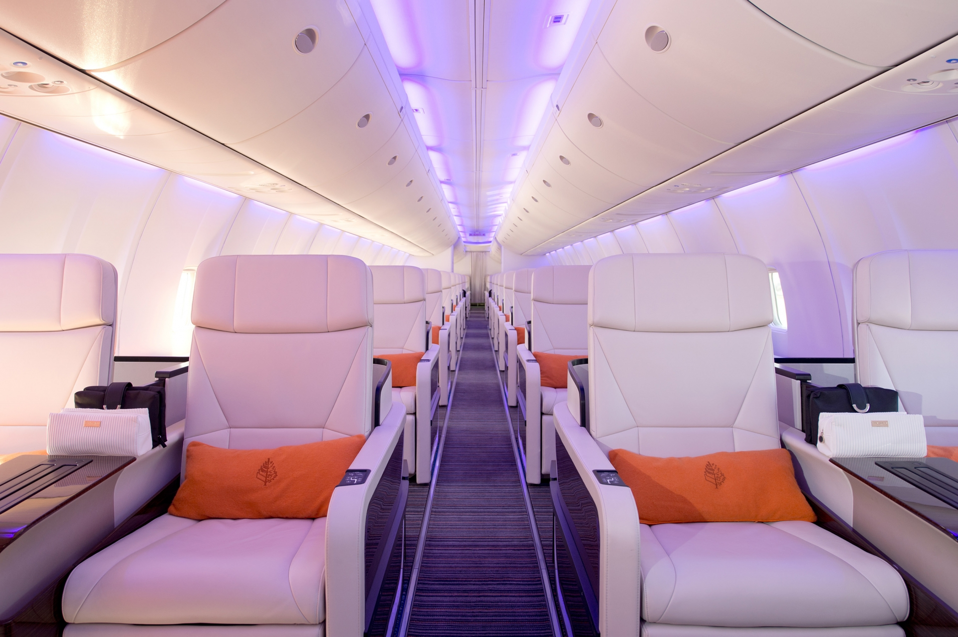 The Four Seasons Jet is a Boeing 757, fully customized with 52 seats