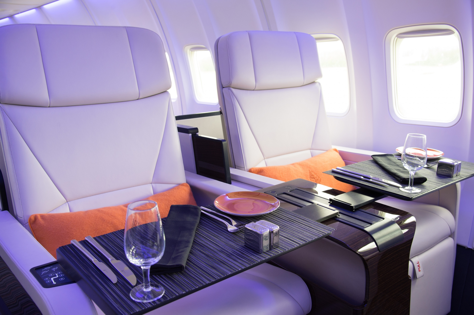 This luxury jet will get your trip started on the right foot
