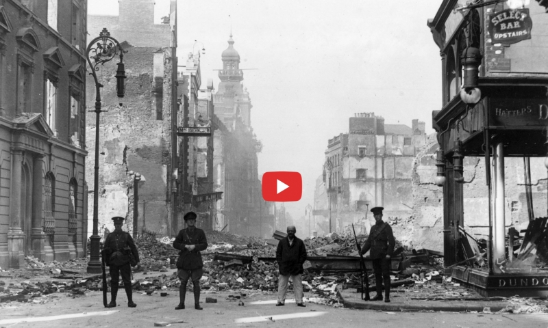 1916 Irish Rebellion Video Narrated by Liam Neeson