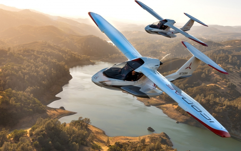 Behold the New ICON A5 Light Aircraft is a Revolutionary Masterpiece