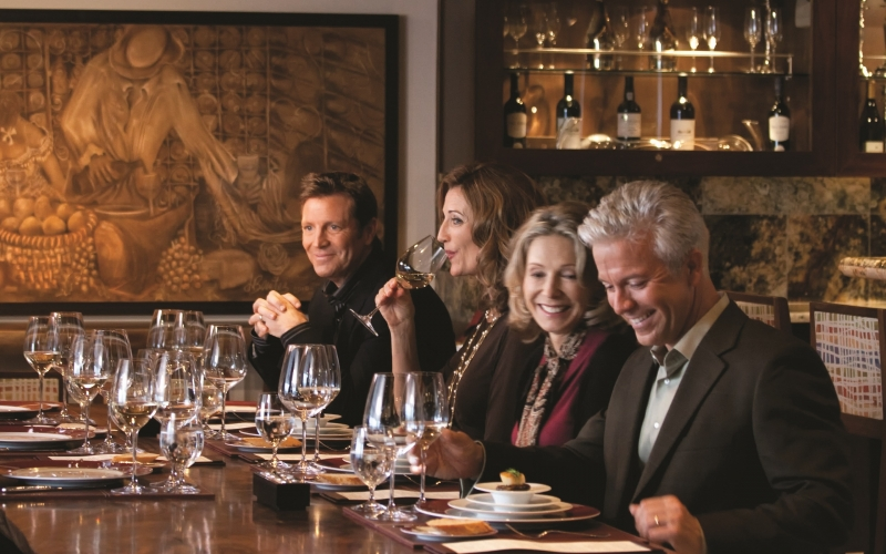 Oceania Cruises Offers Passengers a Sophisticated Wine Tasting by Wine Spectator