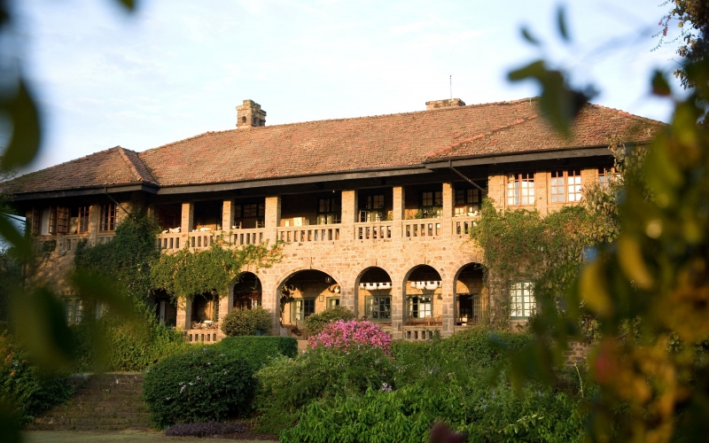 Deloraine House stands tall near the edge of the Great Rift Valley