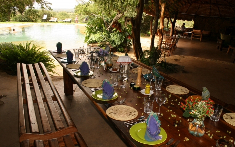 For a comprehensive experience of Africa, Offbeat rounds it up with Sosian Lodge