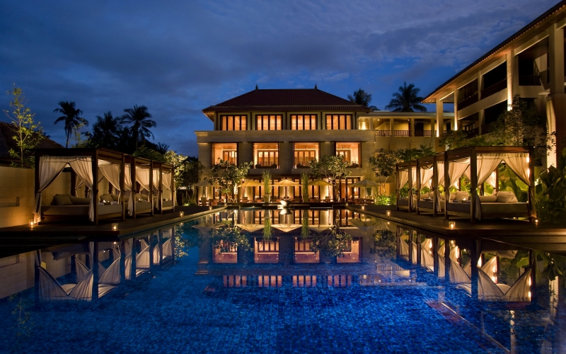 The Conrad Bali Pool, Indonesia