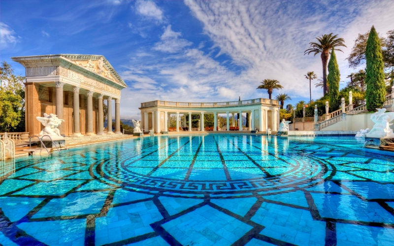 Neptune Pool Hearst Castle, California