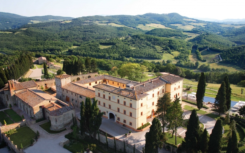 Castello di Casole, A Thousand Year Old Tuscan Masterpiece