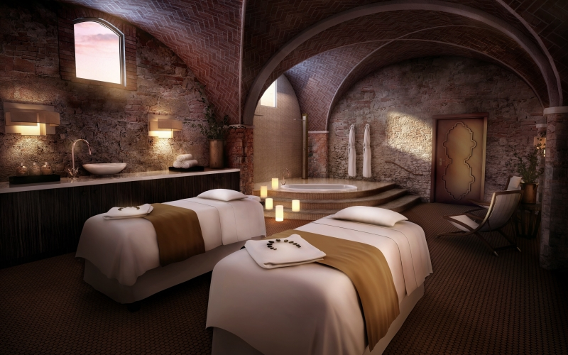 Castello di Casole, Essence Spa