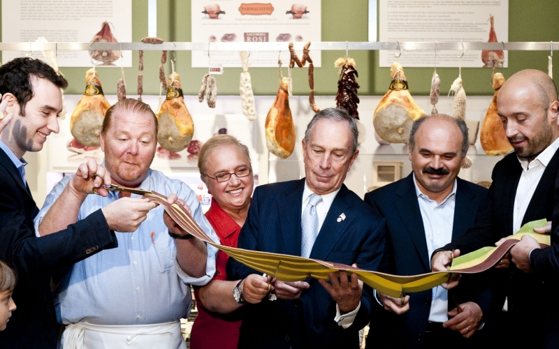 Eataly Pasta Ribbon Cutting, New York