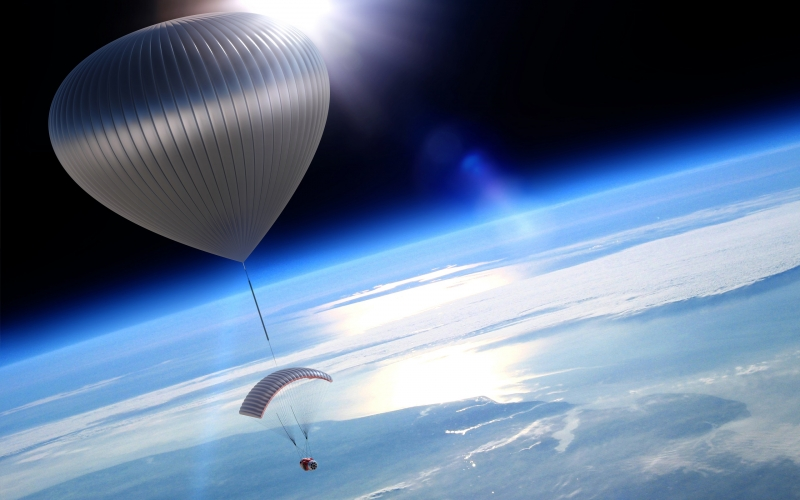 Voyagers Glide Gently Through the Stratosphere