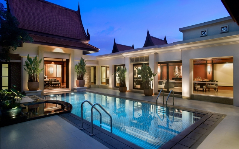 Banyan Tree Features a Two Bedroom and Pool Villa