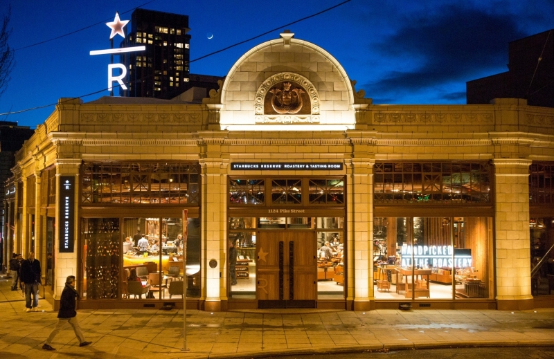 Starbucks Reserve Roastery slated for Manhattan 2018