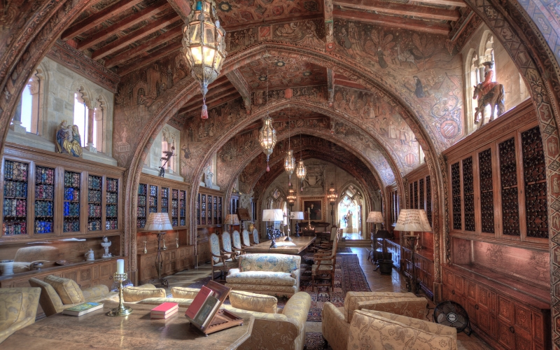 The Enchanting Gothic Suite at Hearst Castle