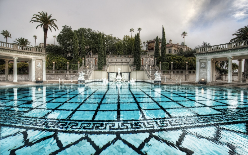 The Magnificent Neptune Pool at Hearst Castle