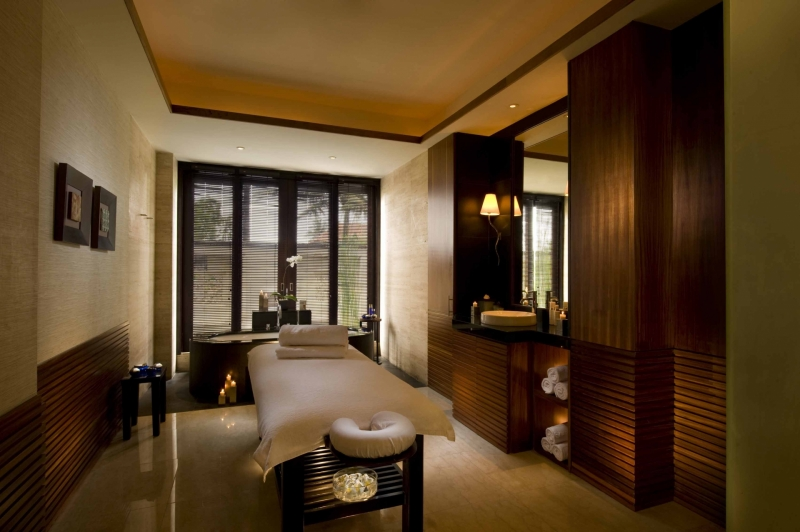 Conrad's Jiwa Spa Private Lounge