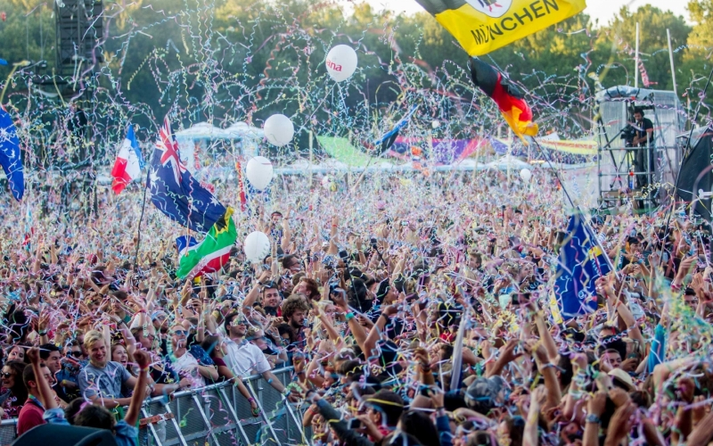 Sziget 2017, The Amazing Island of Freedom Music Festival, Budapest...25th Anniversary