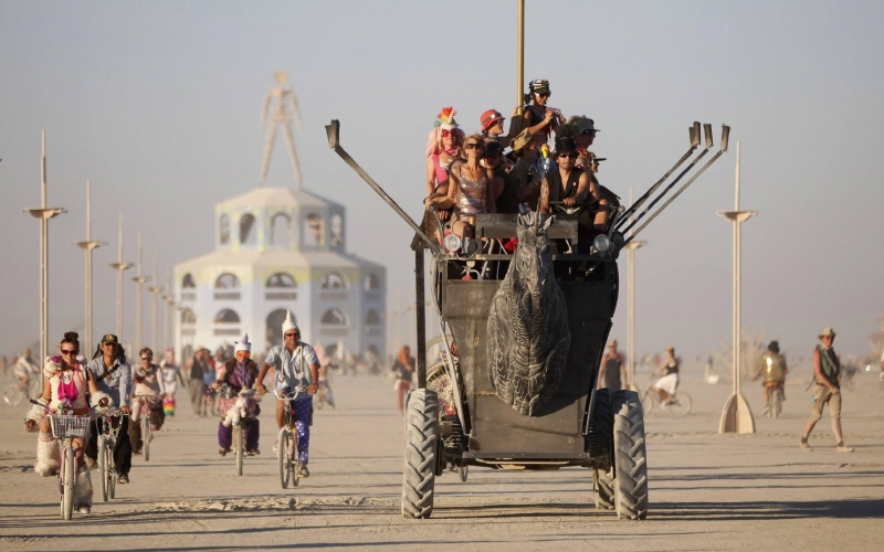Burning Man 2018, The Forbidden Planet of Incandescent