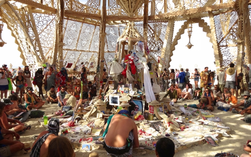 Burning Man is located in Nevada's High Rock Canyon National Conservation Area