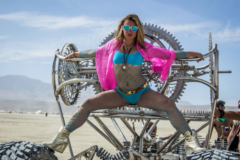 This Unique Philosophy is Obvious Through the Style of Dress at Burning Man
