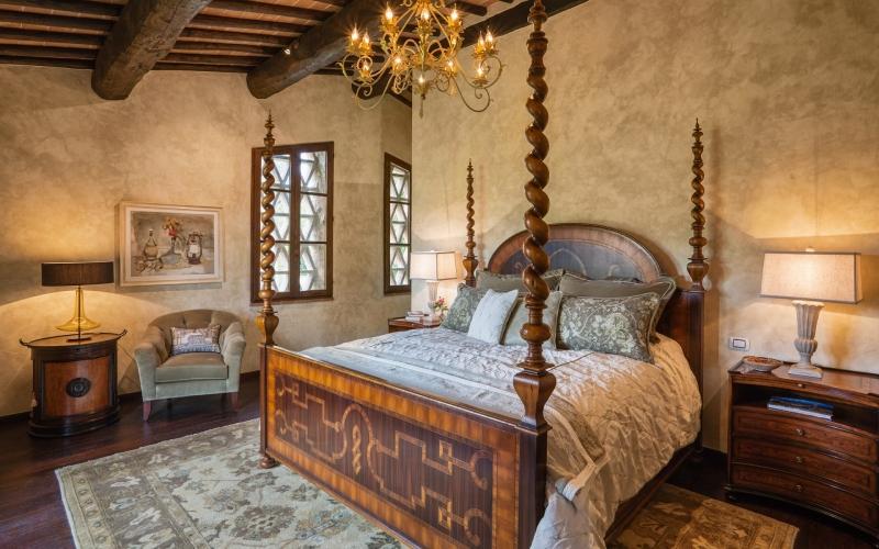 Italian Villa Rental La Veduta Di Vertine Magnificent Tuscan Farmhouse Near Siena