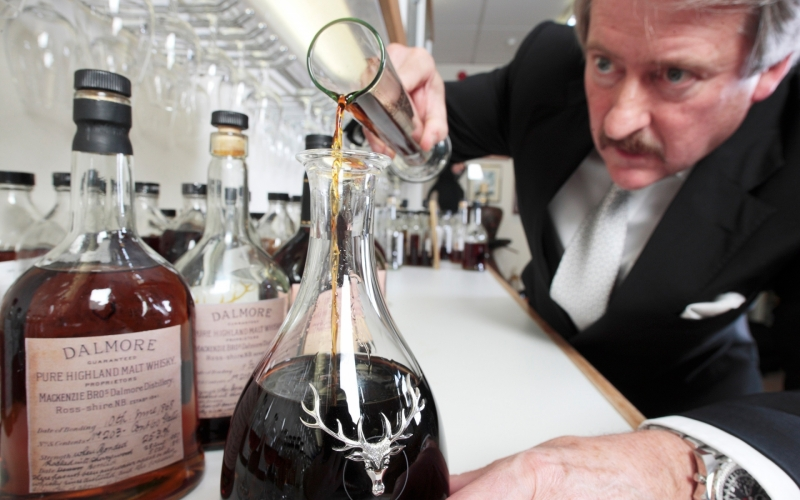 Richard Paterson, Celebrating over 50 years of Unparalleled Scotch Whiskey Craftsmanship