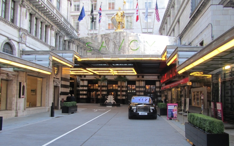 The American Bar at the Iconic Savoy...A Legacy of Celebrity and Royalty