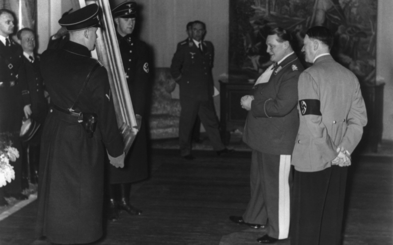 Hermann Göring and the Cultural Rape of Europe
