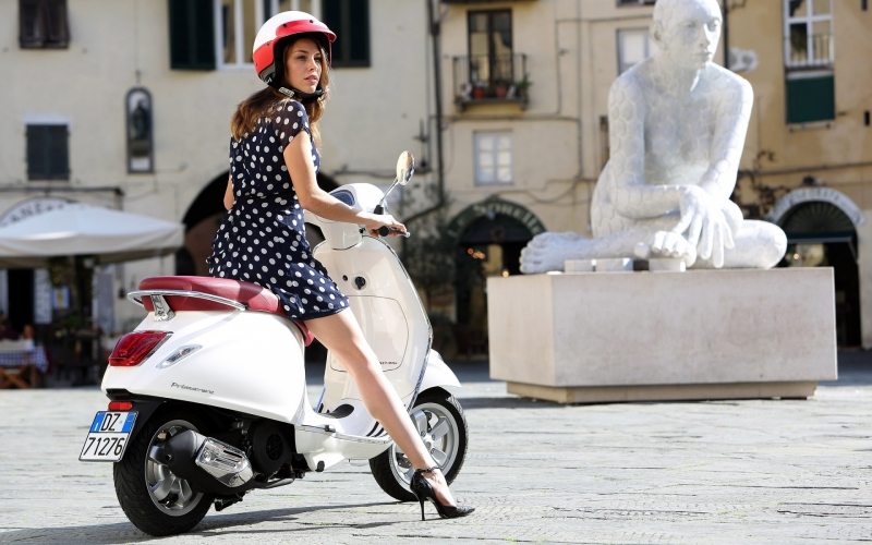 Vespa Primavera ... Tour Rome & Florence on the Legendary Scooter
