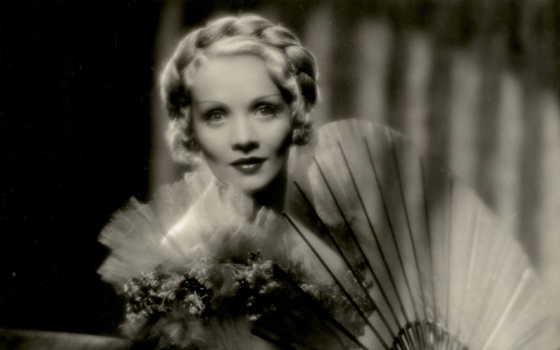 Marlene Dietrich Staring in The Scarlet Empress