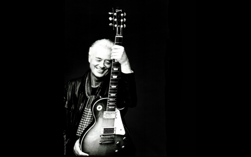 Jimmy Page...50th Anniversary of Led Zeppelin