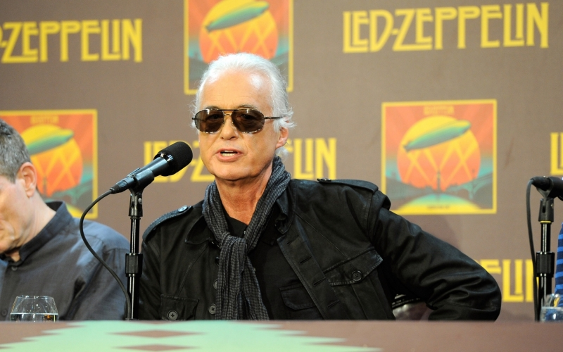 Jimmy Page...Legendary Guitar God Marks the 50th Anniversary of Led Zeppelin