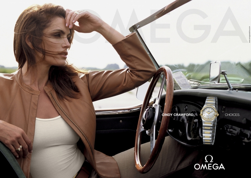 Omega Ambassador Cindy Crawford & Family Radiates Warmth for the Iconic Brand