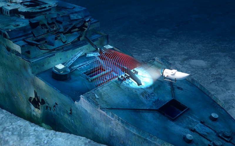 Titanic Survey Expedition ...View the Legend Two Miles Down Inside a Manned Submersible