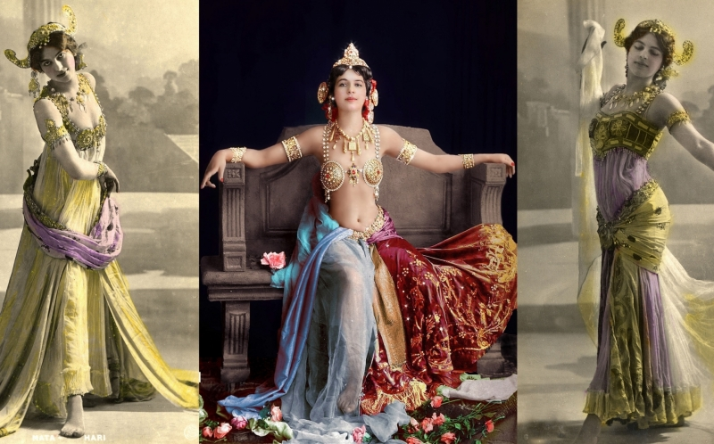 Mata Hari... the Legendary Courtesan