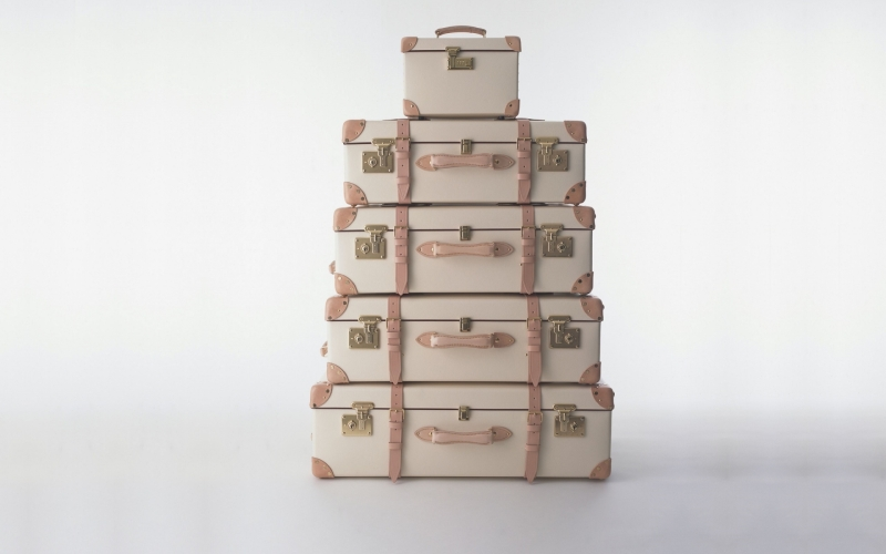 Globe-Trotter Luggage...Handcrafted and Synonymous with Great British Design