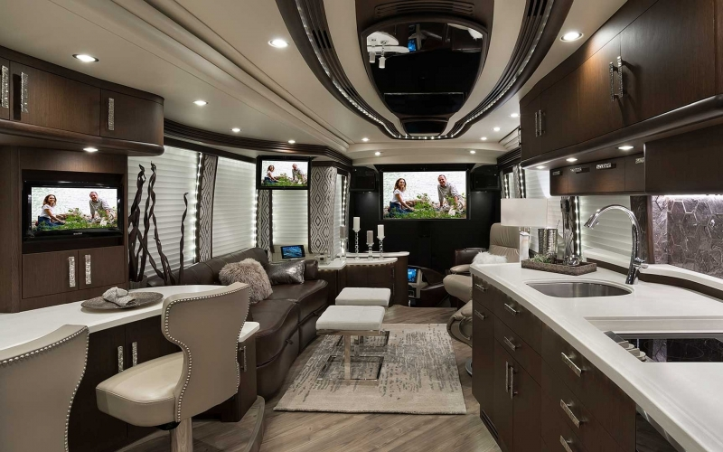 Liberty Coach...The Premier Family Owned Manufacturer of Prevost Motorcoach Conversions