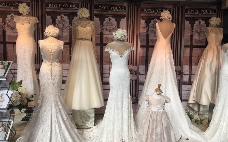 Joyce Young Bridal Couture...Inspired by the Romance of Downton Abbey & Hollywood Glamour