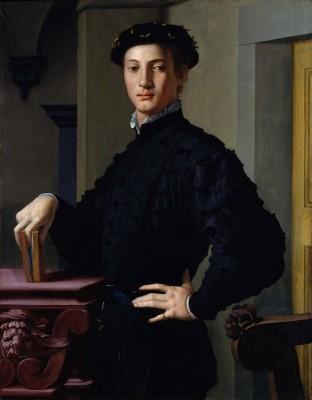 Portrait of a Young Man, c.1545, Oil on Board